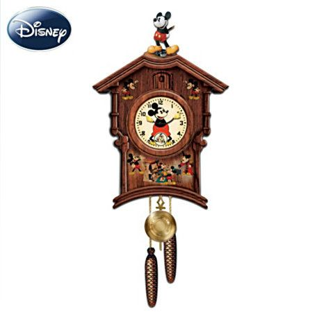 Disney Memories Of Mickey Mouse Wooden Wall Cuckoo Clock Disney Mickey Mouse Wall Decor - Google Chrome 6132013 90630 PM