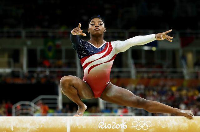 U.S. women make history in capturing Rio Olympic gymnastics team gold