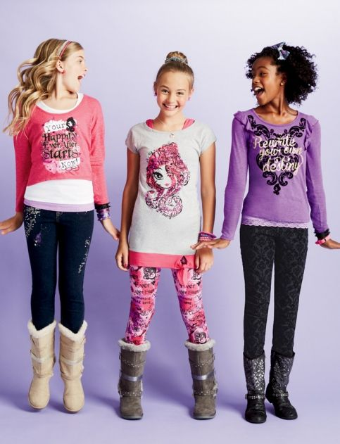 Ever After High Clothes Available At Justice