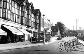 Haywards Heath town centre as it used to be.