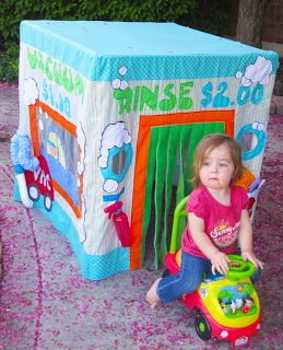 Parties and Patterns: Card Table Playhouse Pattern