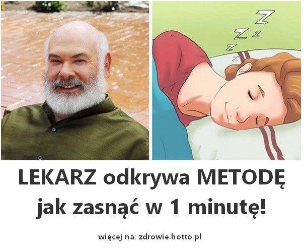 Lekarz odkrywa metodę jak zasnąć w 1 minutę. Sposób na bezsenność