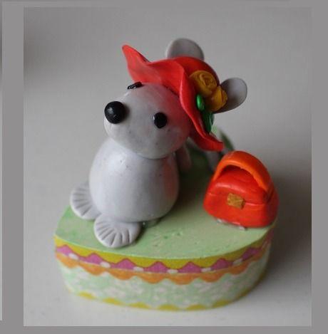 Boîte à dents de lait enfant souris fille : Chambre d'enfant, de bébé par ludifimo