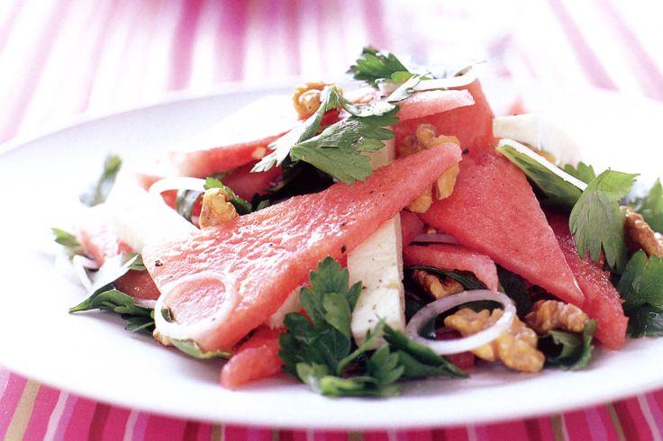 Watermelon salad recipes on Pinterest | Watermelon, Watermelon salad ...