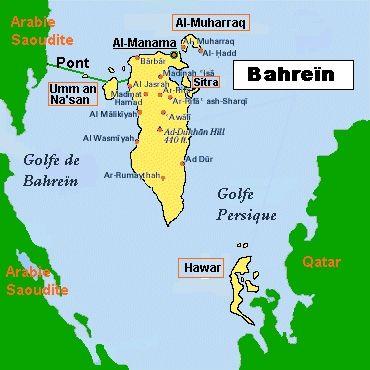 bahrein mapa asia - Buscar con Google
