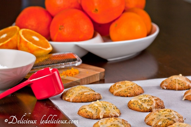 Orange Poppy Seed Cookies | Czech mama is cooking | Pinterest