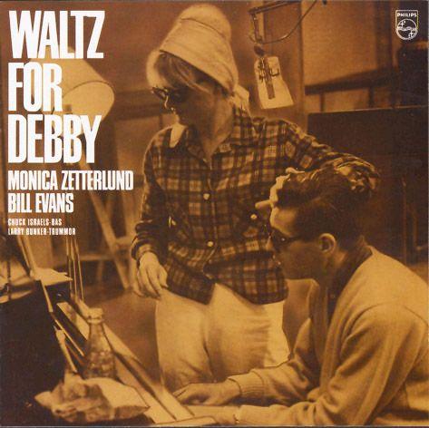 Monica Zetterlund & Bill Evans – Waltz For Debby (1964) Philips [+ Bonus] – Zenekuckó