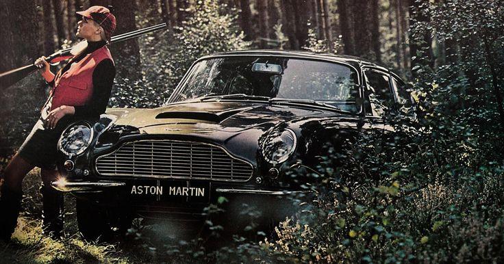 1965 Aston Martin DB6. Hunting girl.