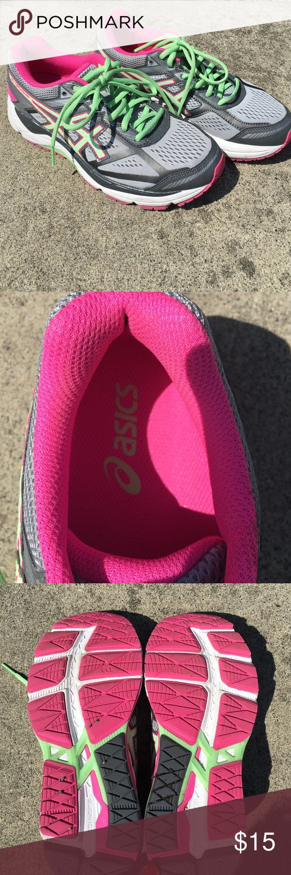 Asics Gel Foundation Sneakers Barely ever worn! Inside of the shoes are basically brand new. Asics Shoes Athletic Shoes