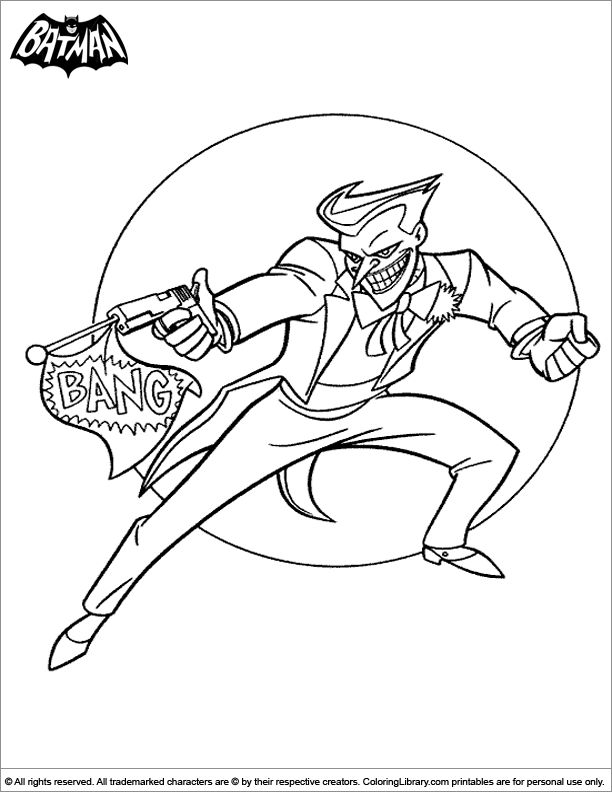 Png Free Batman Coloring Book Pages You Can Print And Color
