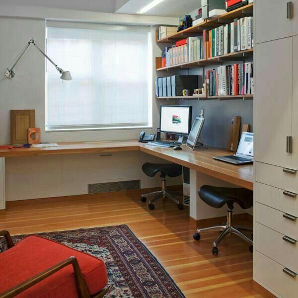 9 besten schmales arbeitszimmer bilder auf pinterest arbeitsbereiche schreibtische und b ro ideen. Black Bedroom Furniture Sets. Home Design Ideas