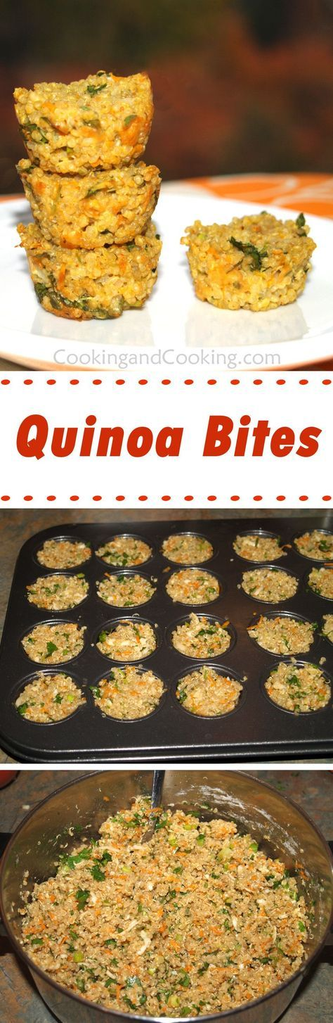 Quinoa Bites Recipe
