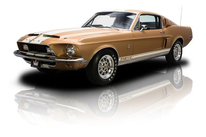 1968 Ford Shelby Mustang GT500 Gold