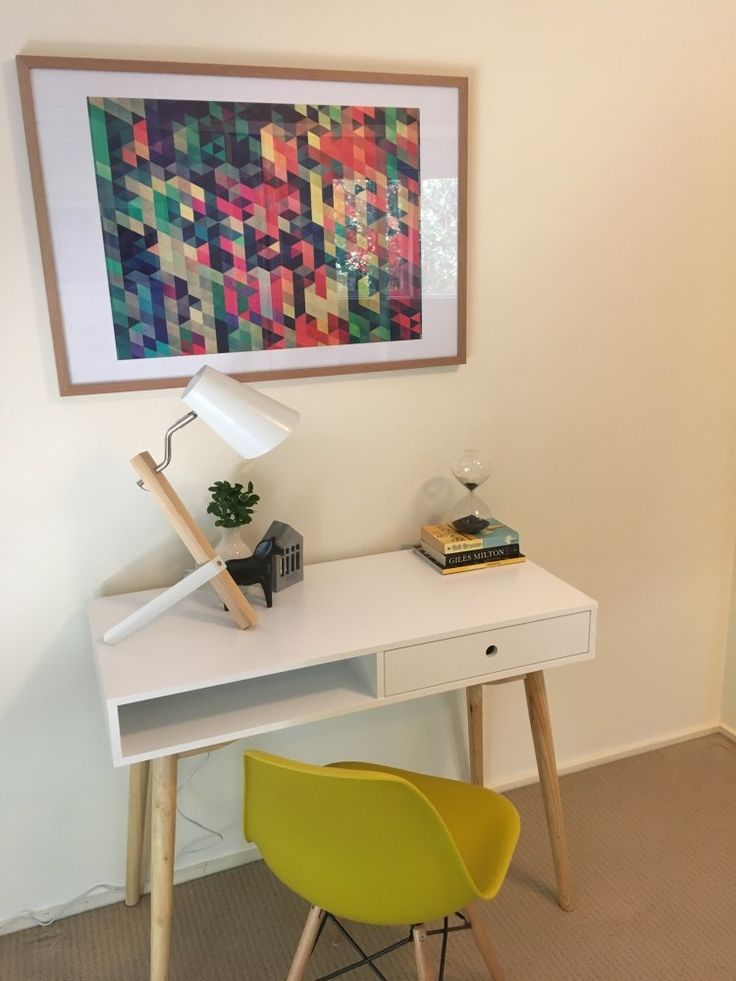 Study space -  property styled by Leeder Interiors Melbourne