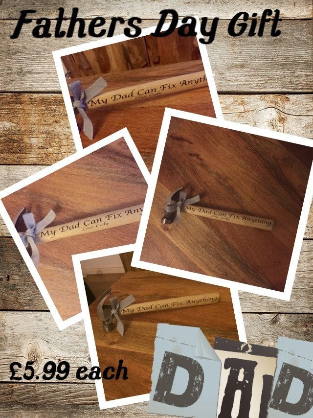 personalised hammer - bespoke quote by GemzCreativeCreation on Etsy