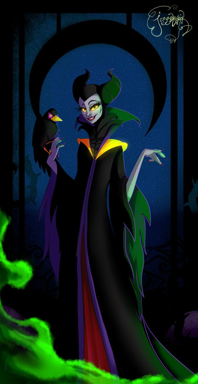 repainted maleficent and prince - photo #45