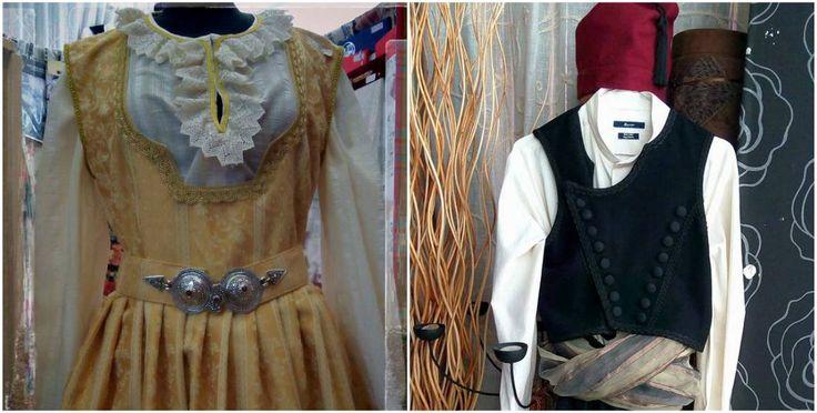 Το κατάστημα Μαριάννα στο Καρλόβασι ασχολείται με την δημιουργία παραδοσιακών στολών, αλλά και σχολικές στολές για παρέλαση.