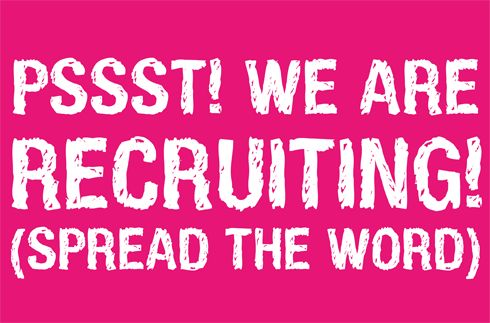 We are recruiting!   Please apply by bringing your CV's in person to; Best4ecigs, Unit 5, Tollgate Works, Sapcote Ind Estate, Burbage, Leics, LE10 2AU OR Best4ecigs, Macks Garage Ltd, Foxhunter Roundabout, Leicester Road, Enderby, Leics, LE19 2BF
