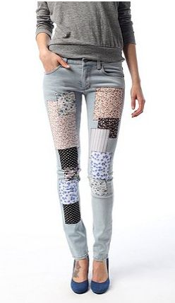 Flower Patch Jeans photo 1