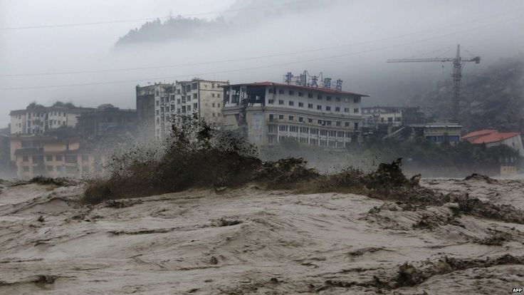 Worst floods in 50 years lay waste to China's Beichuan county- 30 believed buried alive | The Extinction Protocol: 2012 and beyond