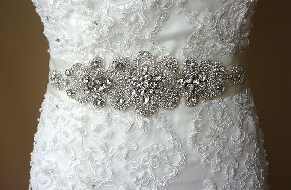 Wedding sash,bridal belt,rhinestone sash,bridal ribbon sash,Bridal Crystal sash,bridal accessories,bridal belt