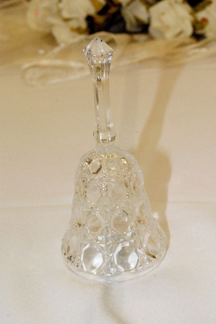 Crystal Wedding Bell