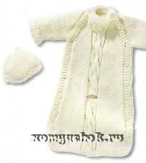 вязание для новорожденных конверт - Căutare Google