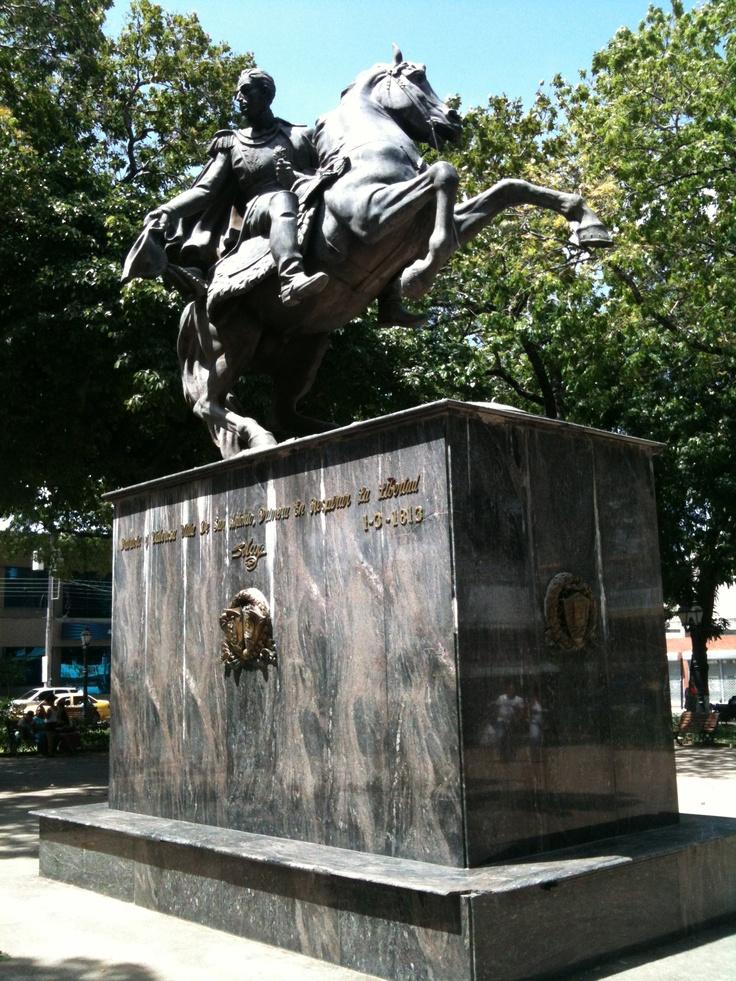 Simón Bolívar / san antonio / Venezuela