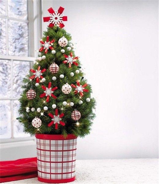 27 Best Christmas Tree Planter Decor Images On Pinterest