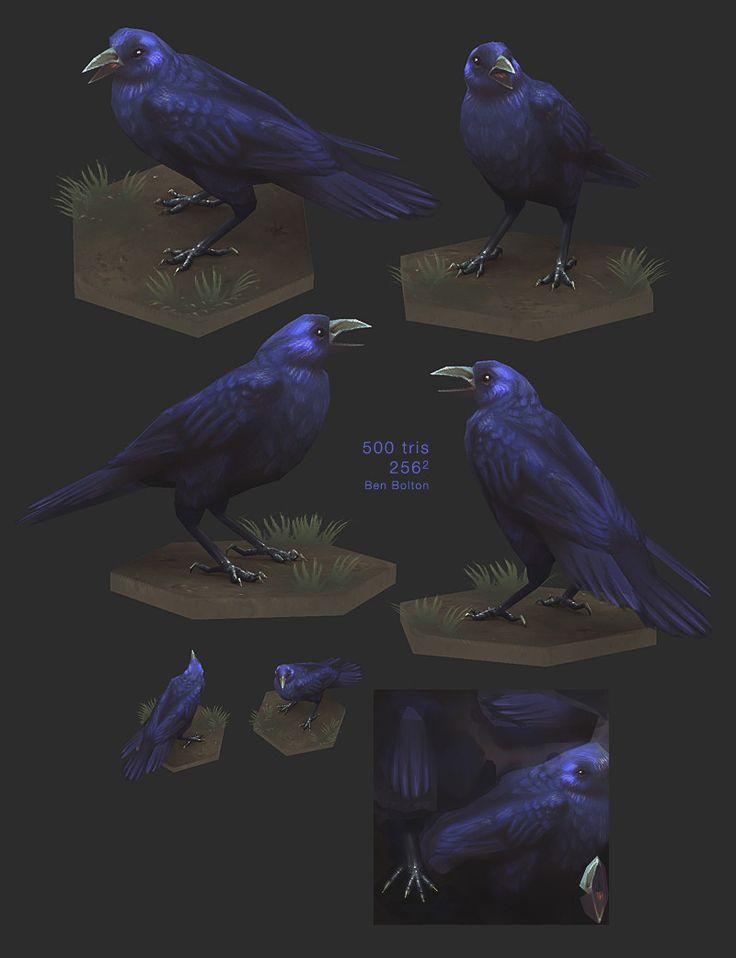 ArtStation - Crow, Ben Bolton