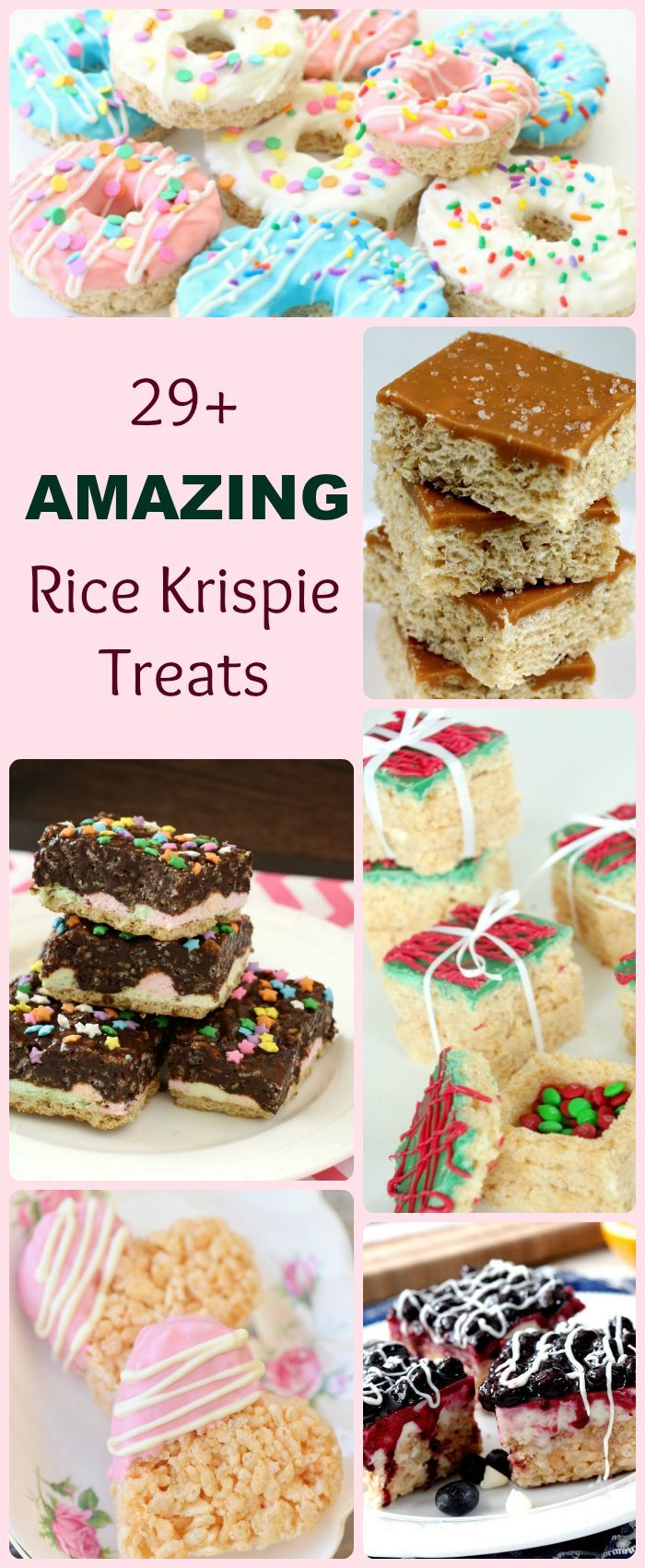 Amazing Rice Krispie Treat Recipes - all our favorite recipes in one spot! If you're a fan of the gooey marshmallow treat, you've got to see this collection! Butter With A Side of Bread