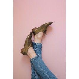chaussures lamberto noir/dore @ DES PETITS HAUTS