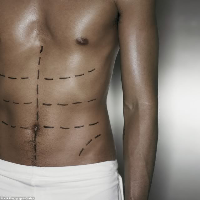 Men and Plastic Surgery: from Botox to Ab etching.