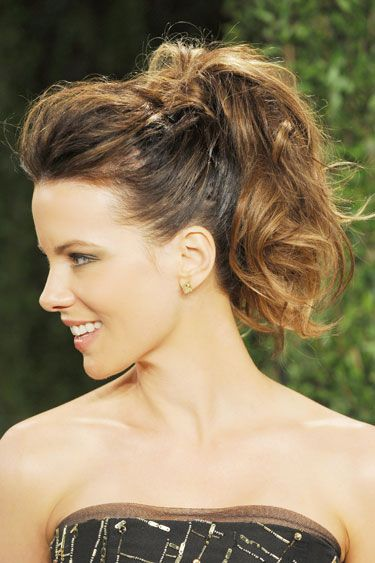 Chic Ponytails to Try at Every Height: High and Wavy