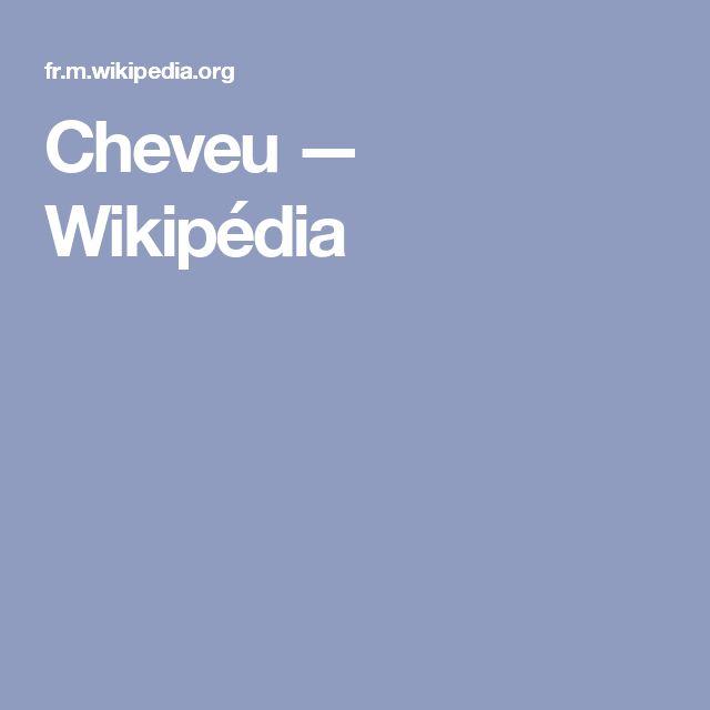 Cheveu — Wikipédia