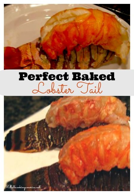 Perfect Baked Lobster Tail  |  whatscookingamerica.net  #baked #lobster #tail #christmas