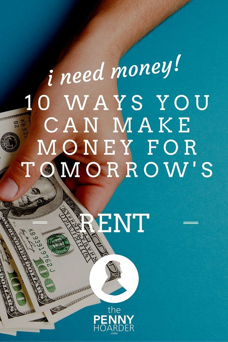 If you're having a tough week financially and need to find some cash fast, there are a few things you can do which won't take a lot of time, and can be done for people you know, or even friends of friends. - The Penny Hoarder - http://www.thepennyhoarder.com/i-need-money-10-ways-to-make-money-for-tomorrows-rent/ save money in college, fast ways to save money #collegelife