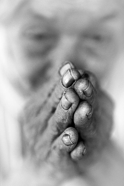 Praying Hands, Artwork by Craig Tuffin
