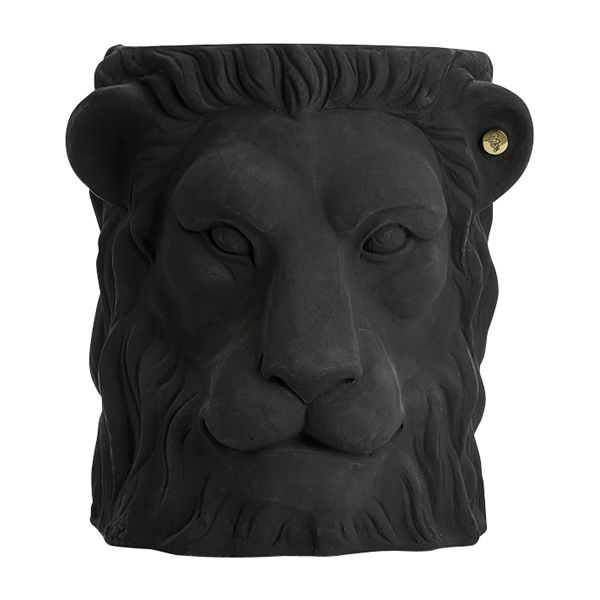 Lion pot front