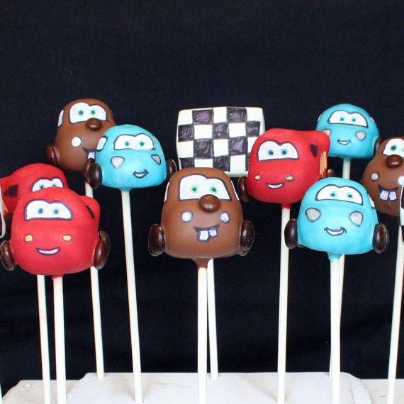 Cars cake pops!