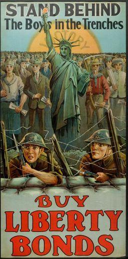 cartel de la primera guerra mundial