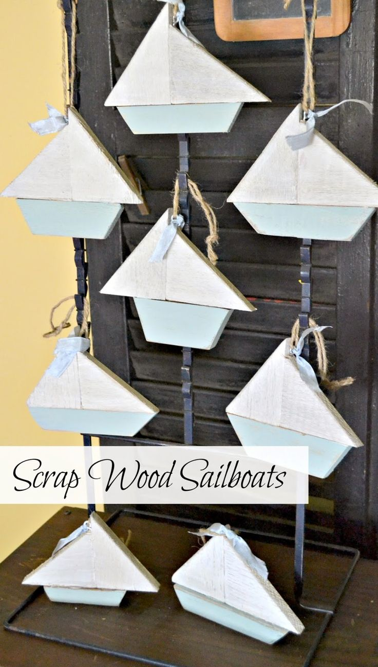 Scrapwoodsailboatchristmasornaments Homeroad