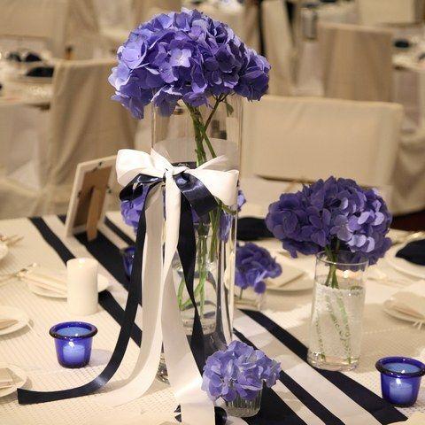 浅草ビューホテル|結婚式場写真「6月の結婚式は紫陽花をテーマとしたコーディネート」 【みんなのウェディング】