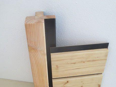 Easy Rhombus® Blackline - HABM geschütztes Holzfassadenprofil aus Lärche