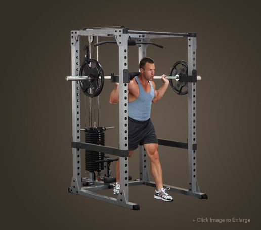 GPR378 - Body-Solid Pro Power Rack - Body-Solid Fitness