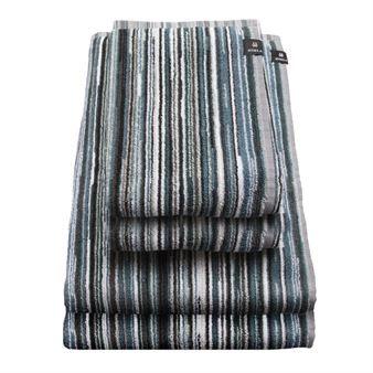 Geef uw badkamer meer kleur met de Happy handdoek van Himla. Deze handdoek is gemaakt van 100% katoen met een hoge kwaliteit, die het een zachte textuur geeft. Het heeft strepen in prachtige kleuren en is verkrijgbaar in verschillende maten - een voor elk doel. Kies een kleur of combineer het met andere handdoeken van Himla.