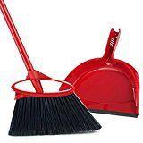 #8: O-Cedar Angler Angle Broom with Dust Pan