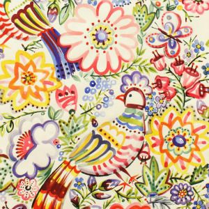 UK - Online Fabric Shop - Alexander Henry - Cotton - Fat Quarter - FQ - Metre - Quilting - Crafts - Dressmaking - Talavera Garden - Folklori...