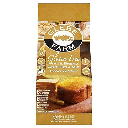 Glebe Farm Gluten Free White Bread  Pizza Mix 375g  Pack of 6 -- Read more reviews of the product by visiting the link on the image.