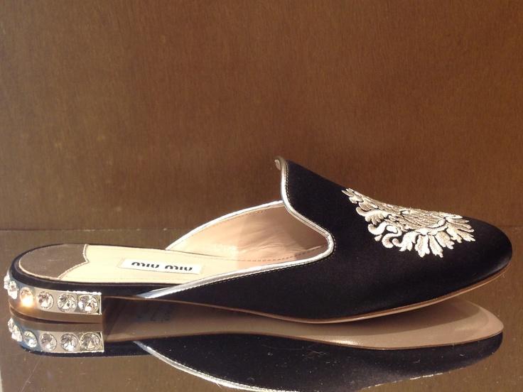 Miu Miu #shoes #velvet